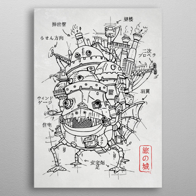 High-quality metal print from amazing Famous Sketch collection will bring unique style to your space and will show off your personality. metal poster