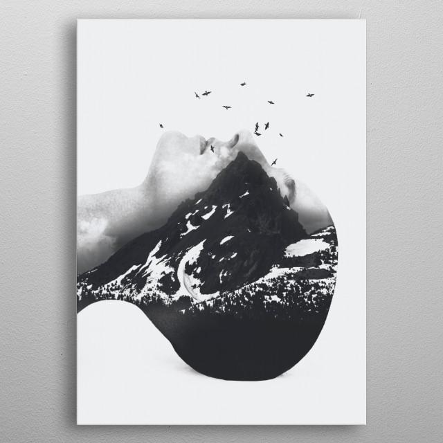 Mountain 46 metal poster
