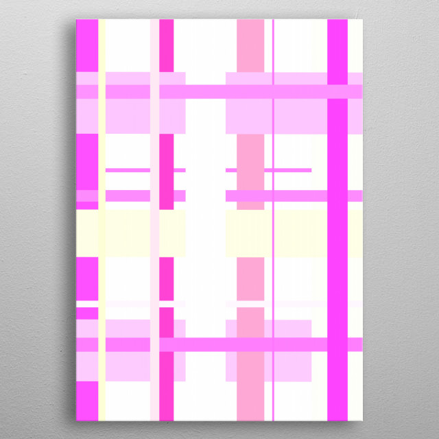 Abstract - Gone metal poster