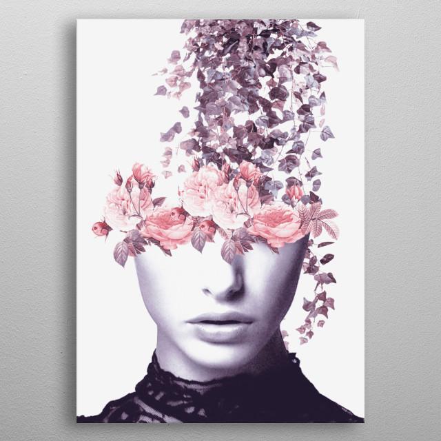 Garden  metal poster