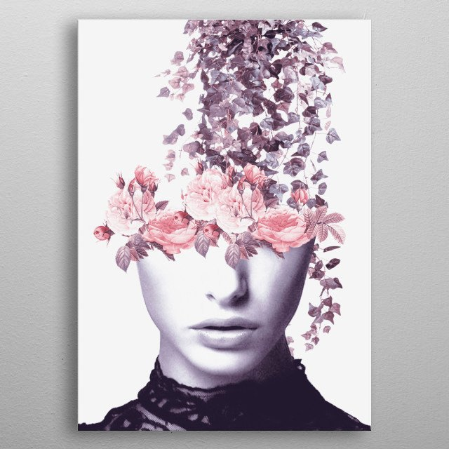 High-quality metal print from amazing Portrait collection will bring unique style to your space and will show off your personality. metal poster