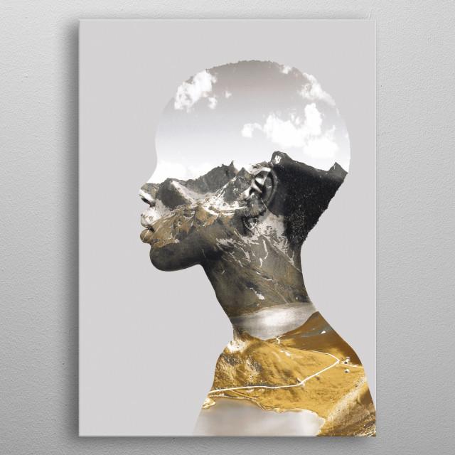 Portrait (Nature) metal poster