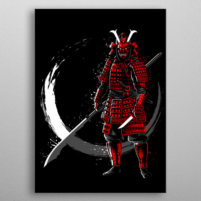 Circle of the samurai metal poster