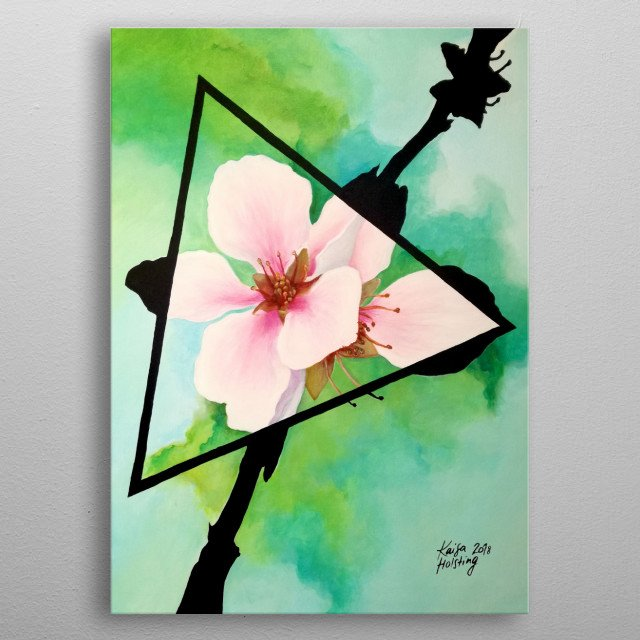 Fascinating  metal poster designed with love by artbysylph. Decorate your space with this design & find daily inspiration in it. metal poster