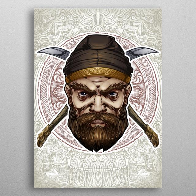 Burebista metal poster