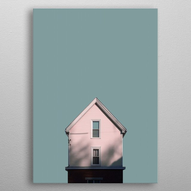 306 • Shadow House metal poster
