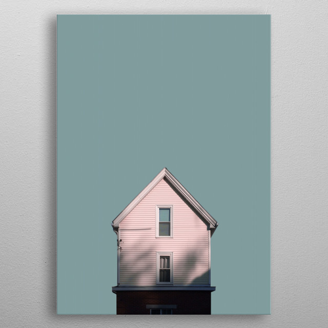 High-quality metal print from amazing Hyperreality collection will bring unique style to your space and will show off your personality. metal poster