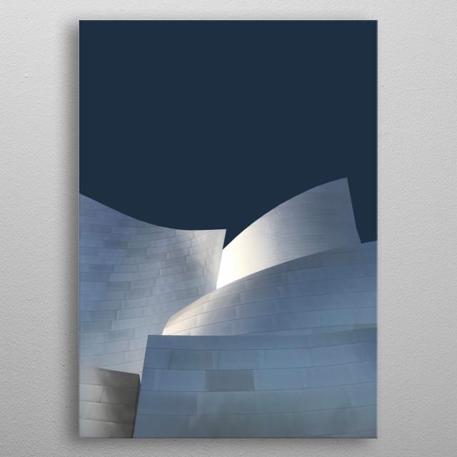 932 • Lightwell metal poster
