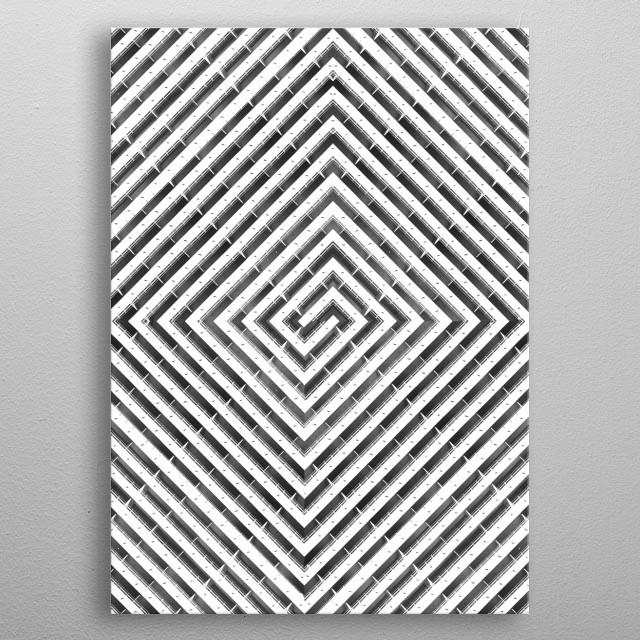 High-quality metal wall art meticulously designed by ericrandall would bring extraordinary style to your room. Hang it & enjoy. metal poster