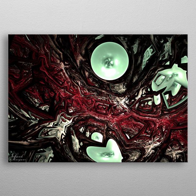 Bloody Wars metal poster