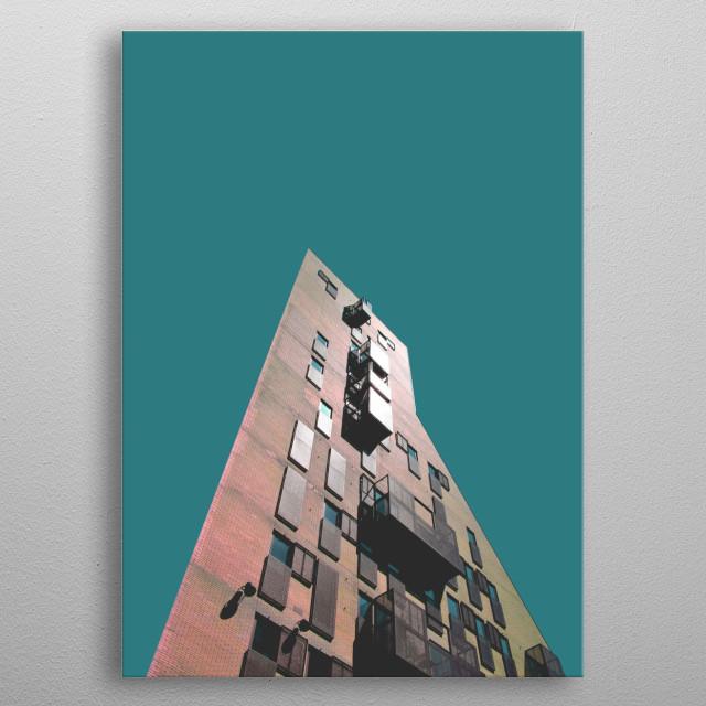 765 • Monolith metal poster