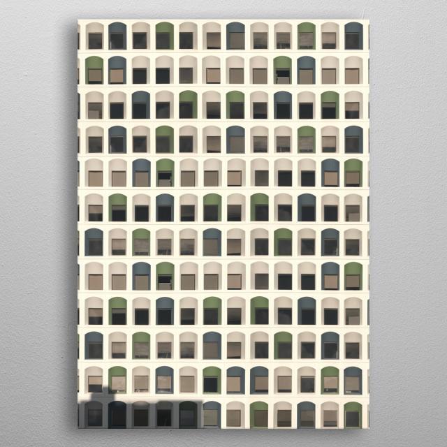 641 • Architexture metal poster