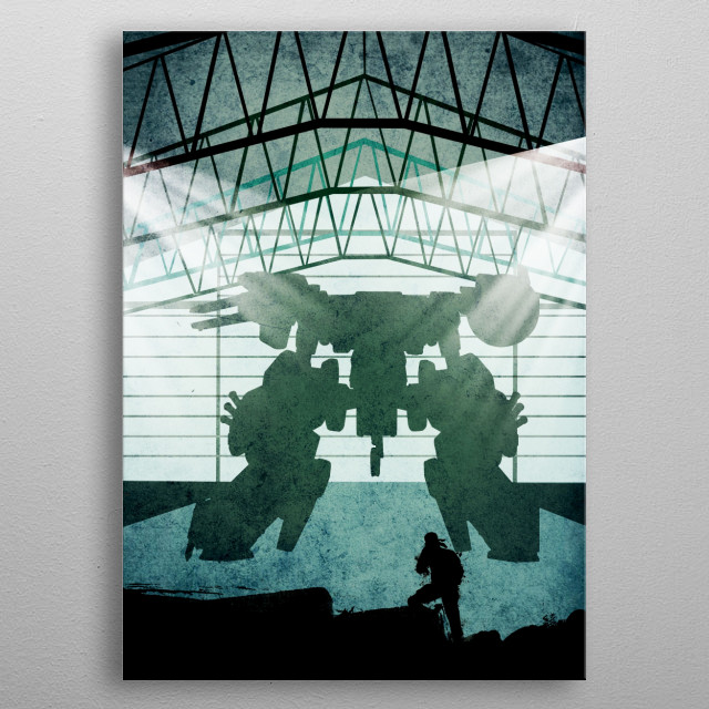 mgs metal poster