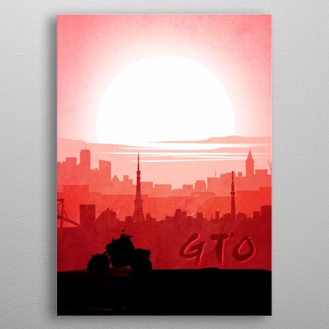 GTO metal poster