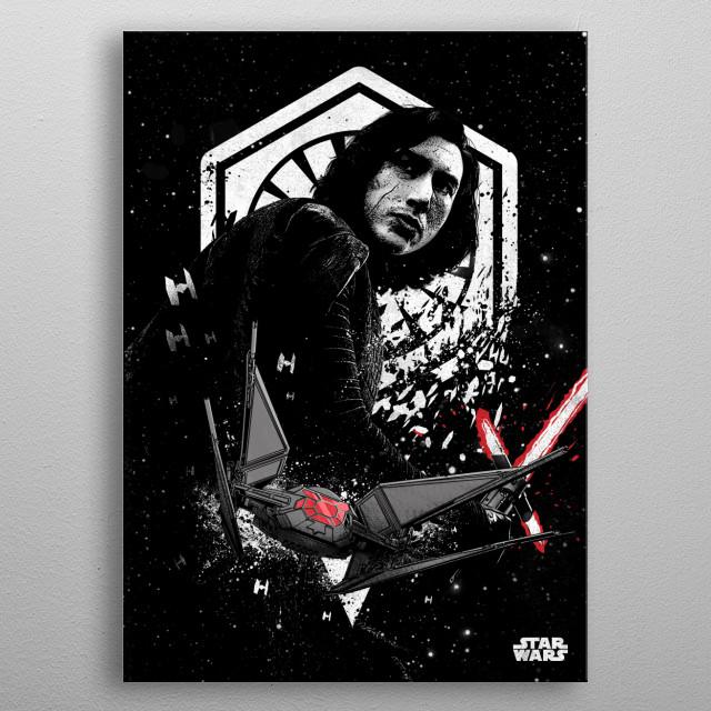 Ren metal poster