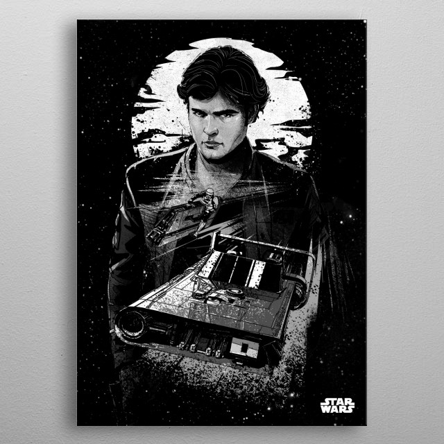 Solo metal poster
