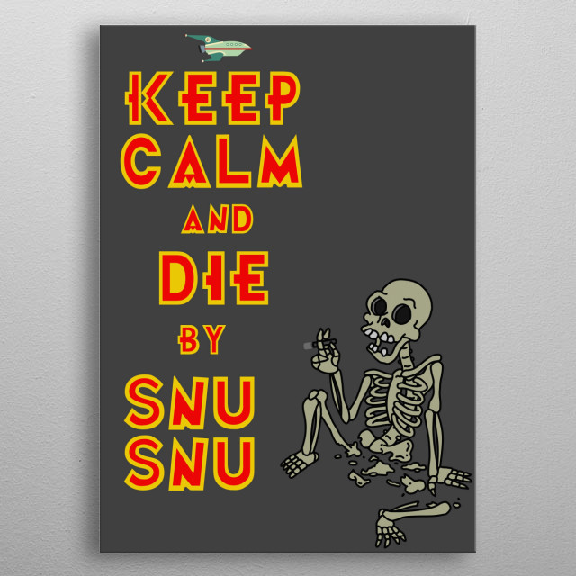 Snu Snu metal poster