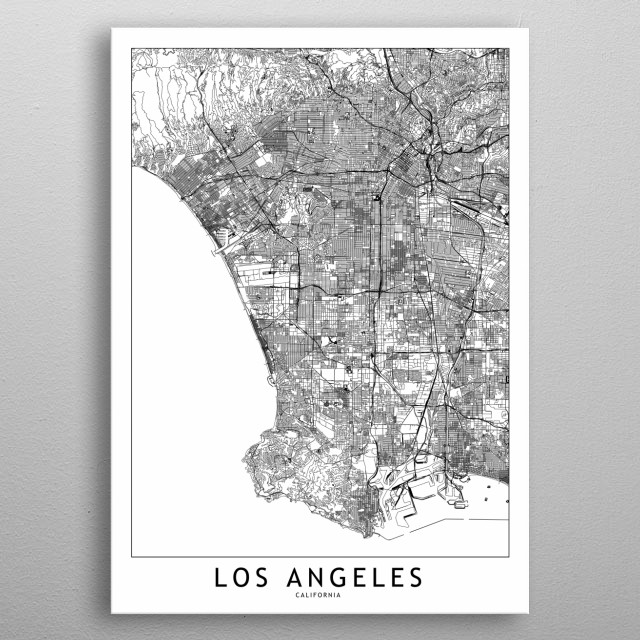Fascinating metal poster designed by Multiplicity Maps. Displate has a unique signature and hologram on the back to add authenticity to each design. metal poster