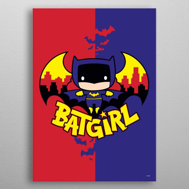 Batgirl metal poster