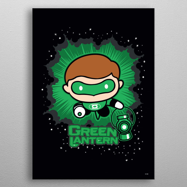 High-quality metal print from amazing Dc Chibi collection will bring unique style to your space and will show off your personality. metal poster