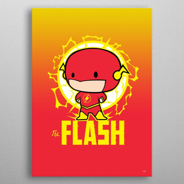 The Flash metal poster