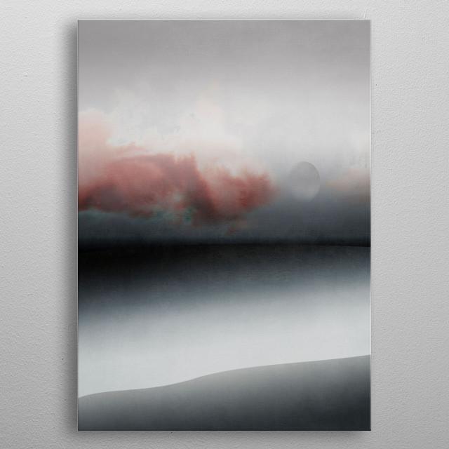 Minimal Landscape 19 metal poster