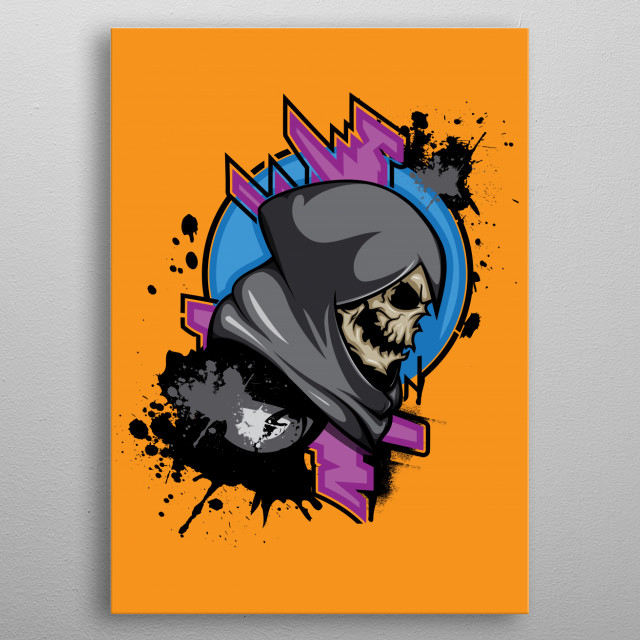 High-quality metal print from amazing Rock collection will bring unique style to your space and will show off your personality. metal poster