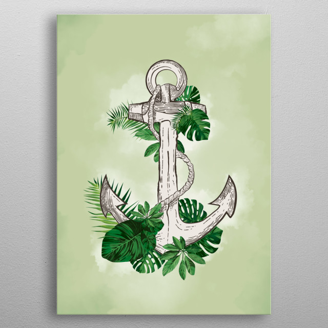 High-quality metal print from amazing Plants collection will bring unique style to your space and will show off your personality. metal poster