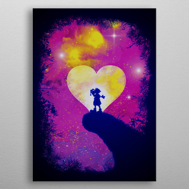 Fascinating  metal poster designed with love by HappyLlama. Decorate your space with this design & find daily inspiration in it. metal poster