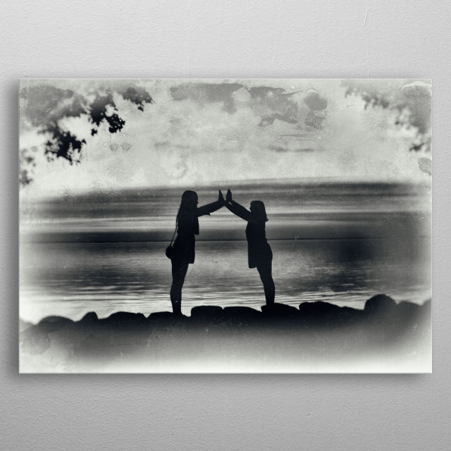 High-quality metal print from amazing Artistic Grunge collection will bring unique style to your space and will show off your personality. metal poster