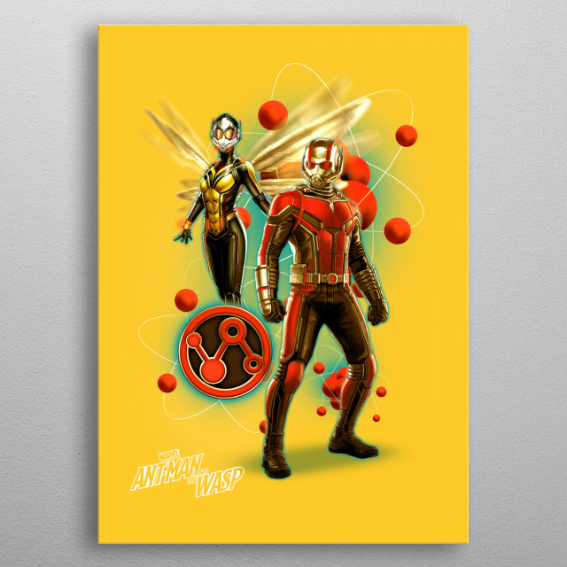 Ant-Man and the Wasp  metal poster