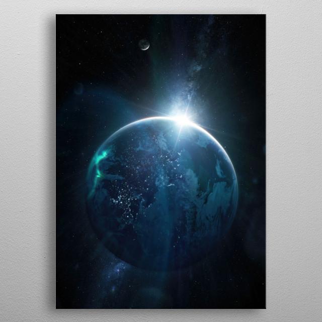 Peerless Sapphire metal poster