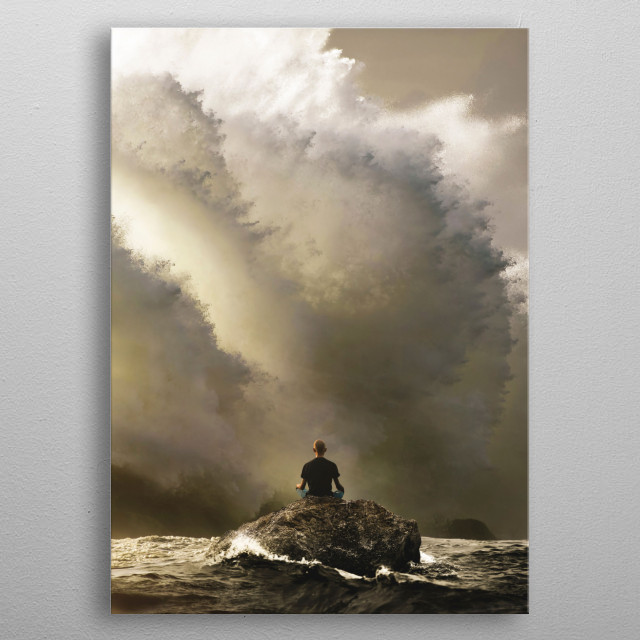 High-quality metal print from amazing Digital Art Surrealism collection will bring unique style to your space and will show off your personality. metal poster