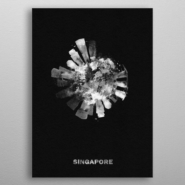 Fascinating  metal poster designed with love by inspirowl. Decorate your space with this design & find daily inspiration in it. metal poster