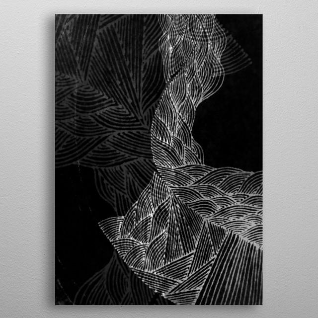 Dark Sea metal poster