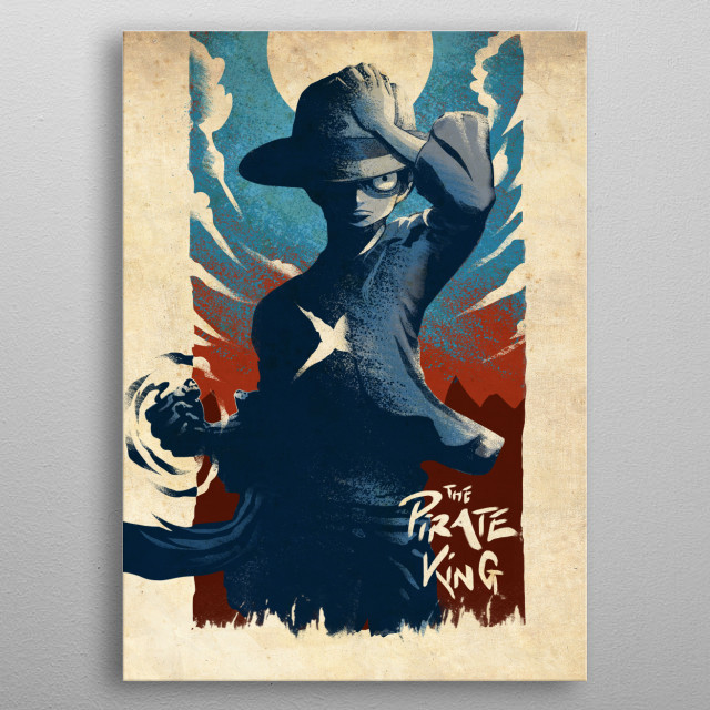 The Pirate King  metal poster