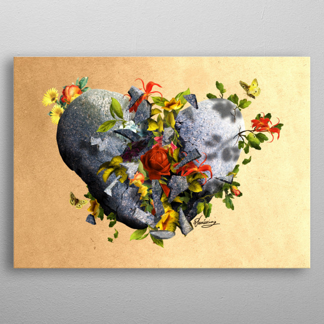 High-quality metal print from amazing Illustrations 4 collection will bring unique style to your space and will show off your personality. metal poster