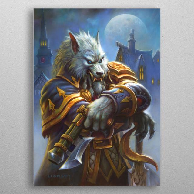 Genn Greymane metal poster