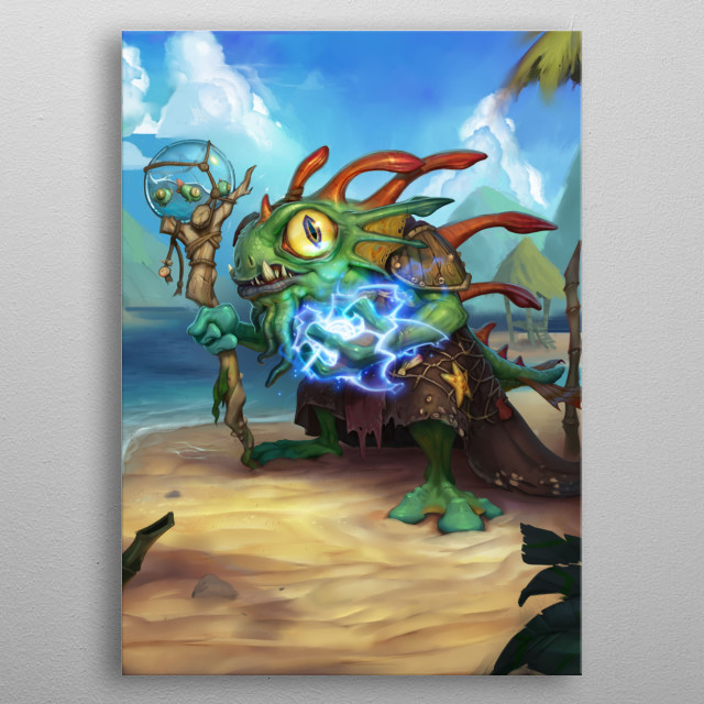 Morgl the Oracle metal poster