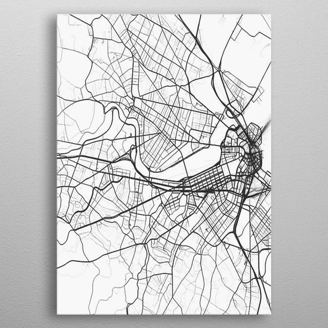 White City metal poster