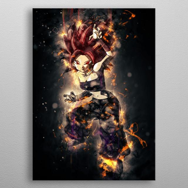 caulifla metal poster