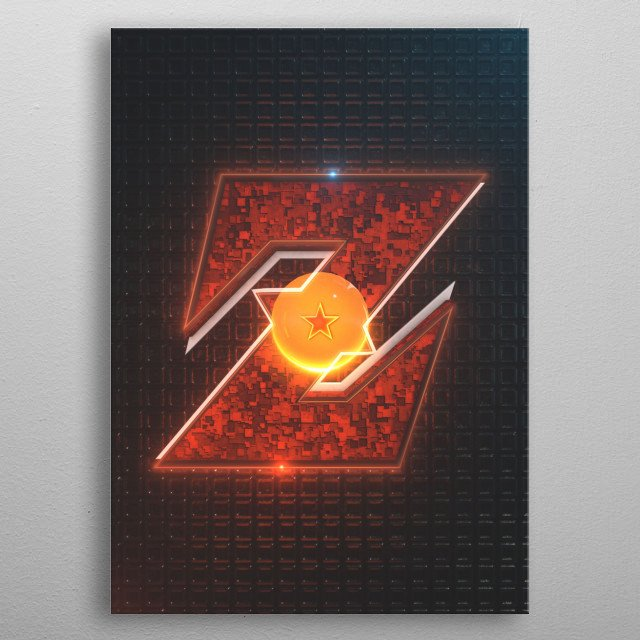 Fascinating metal poster designed by Jose Barrera. Displate has a unique signature and hologram on the back to add authenticity to each design. metal poster