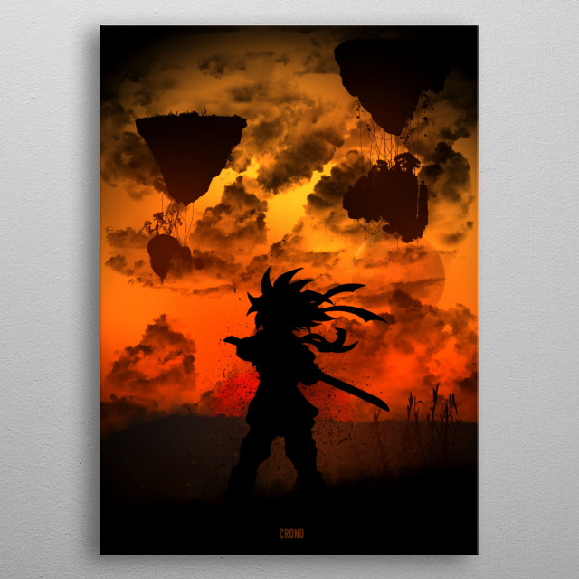 Crono metal poster