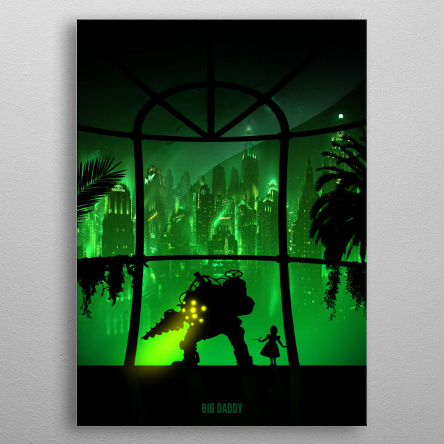 Fascinating metal poster designed by Idealist Art. Displate has a unique signature and hologram on the back to add authenticity to each design. metal poster