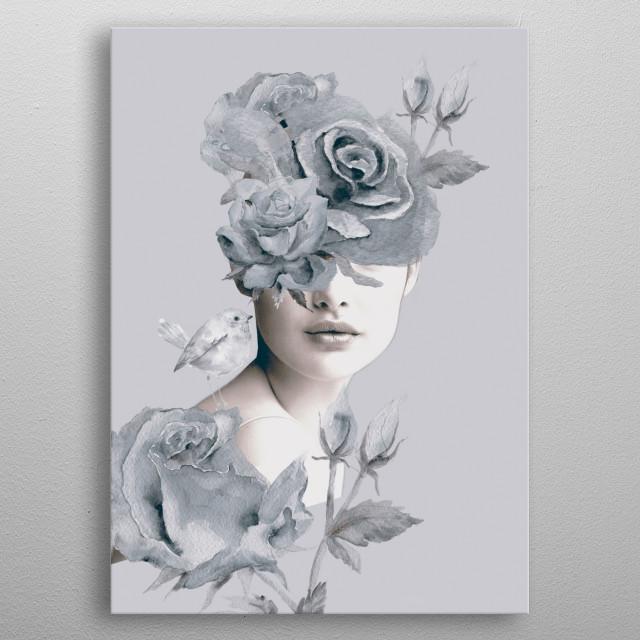 Spring (portrait) metal poster