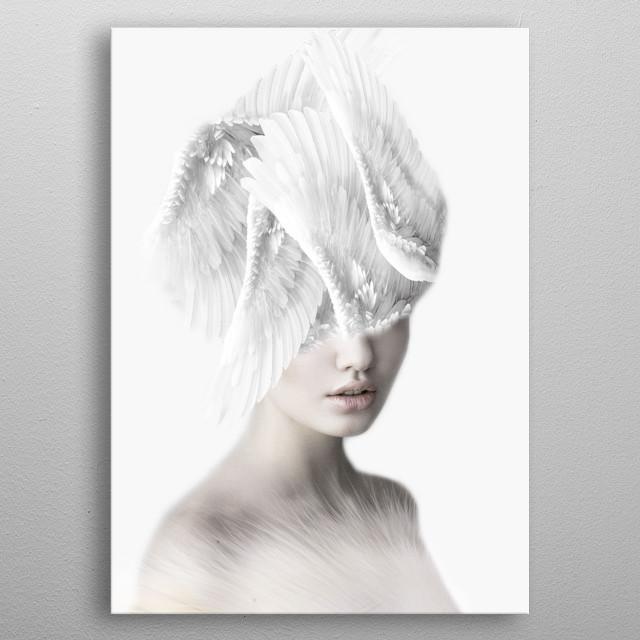 Beautiful Angel metal poster