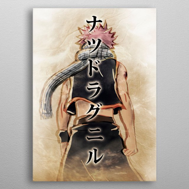 The Fire Mage metal poster