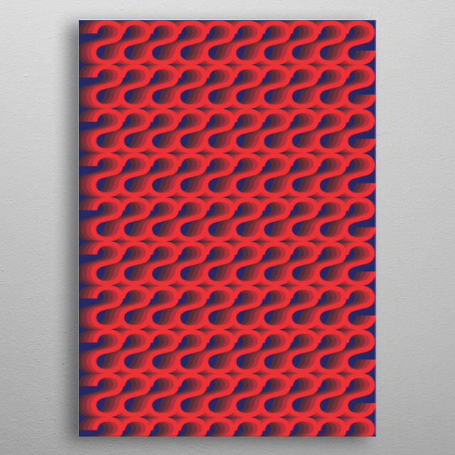 Fascinating metal poster designed by ioanna xorxoroni. Displate has a unique signature and hologram on the back to add authenticity to each design. metal poster
