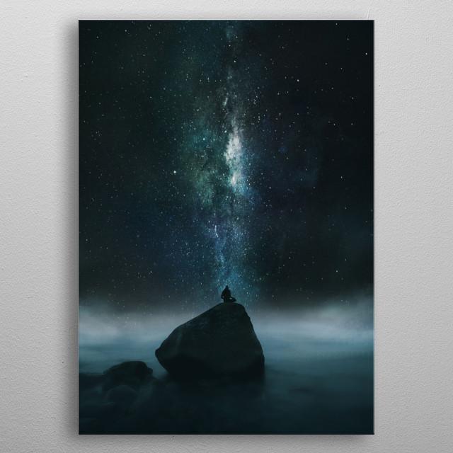 Stargazer metal poster