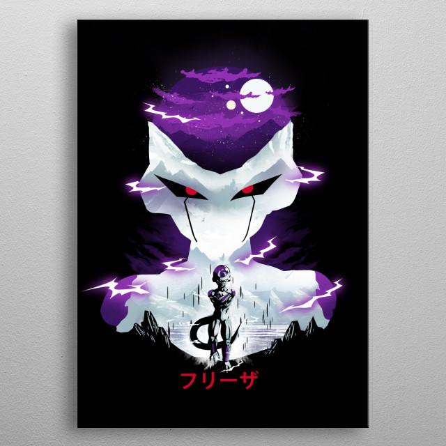 Frieza metal poster
